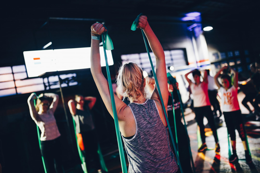 Zumba and Strong Nation training